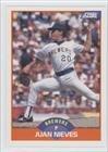 Milwaukee Brewers Pitcher - Juan Nieves Juan Manuel Pitcher Nieves, Milwaukee Brewers (Baseball Card) 1989 Score #410