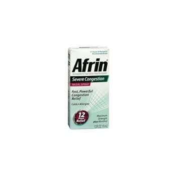 how to stop using afrin nasal spray