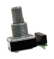 62SG11-M5-060C - Incremental Rotary Encoder, Optical,?á62SG Series, Pushbutton32 Detents, 30 mA, 5 Vdc by Grayhill