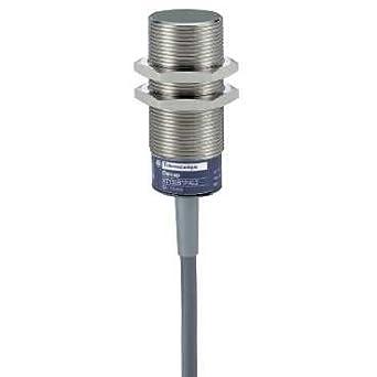 Schneider Electric XT130B1PAL2 Sensor Capacitivo Cilíndrico M30 24Vdc Pnp Na Cable 2M: Amazon.es: Industria, empresas y ciencia