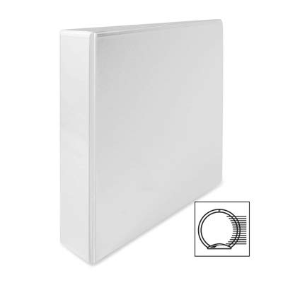 Wilson Jones : International A4 Size 4-Ring View Binder, 2in Capacity, White -:- Sold as 2 Packs of - 1 - / - Total of 2 Each