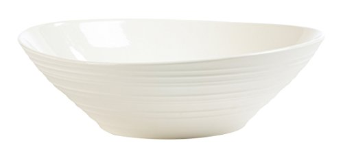 Bowl Pasta Swirl (Mikasa Swirl White Pasta Serve Bowl, 12-Inch)