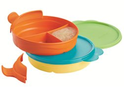 Tupperware Divided Dish Feeding Set for Babies