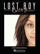 Ruth B - Lost Boy Piano/Guitar Vocal Music