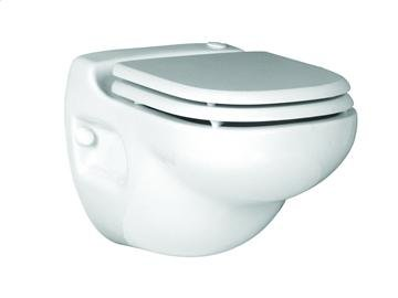 Saniflo Wall Mounted Toilet. Macerating Toilet Complete with Carrier Sanistar SN-012: H 16 3/8