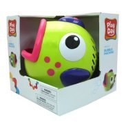 Play Day Green Bubble Blowing Machine (Green Bubbles)