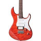 Yamaha Pacifica Series PAC212VQM CB Electric Guitar; Caramel Brown