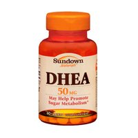 Sundown Naturals Sundown Naturals Dhea, 60 comprimidos 50 mg (paquete de 3)