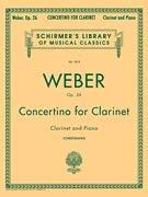 (Carl Maria Von Weber: Clarinet Concertino In E Flat Op.26)