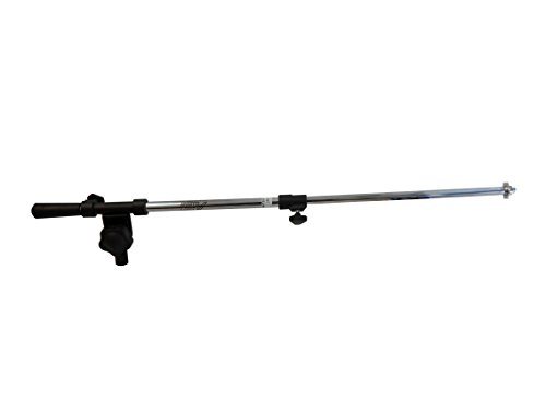 Audio2000'S AST4303 Chrome, Microphone Stand Boom (Chrome Mic)