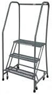 product image for Cotterman 1503R2630A1E10B3C1P6 - Rolling Ladder Steel 60In. H. Gray