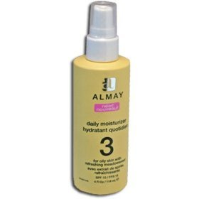 Face Calming (Almay Daily Moisturizer for Oily Skin with Refreshing Meadowsweet 4 oz. (118 ml))