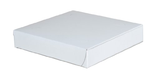 Southern Champion Tray 1401 Clay Coated Kraft Paperboard White Pizza Box, 8