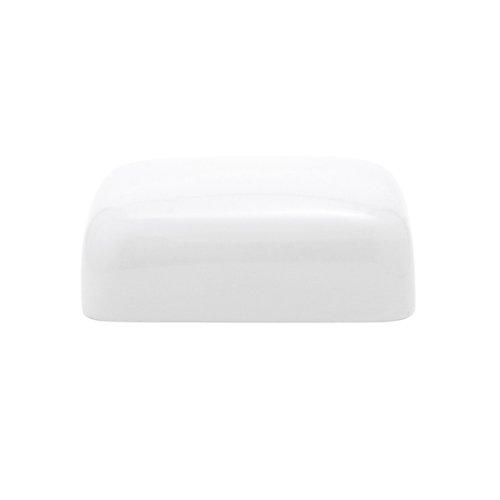 KAHLA Pronto Butter Dish Angular, White Color, 1 Piece by KAHLA - PORCELAIN FOR THE SENSES (Image #1)