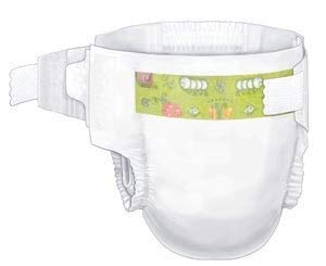 Curity Diaper - Curity Baby Diaper, Size 6, XX-Large (35+ lbs), 18/bg, 8 bg/cs (144count)