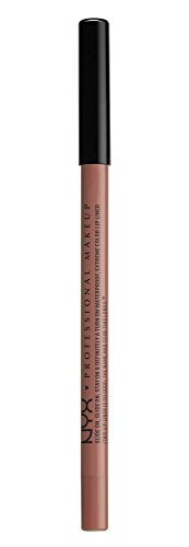NYX PROFESSIONAL MAKEUP Slide On Lip Pencil, Nude Suede Shoes, 0.04 Ounce