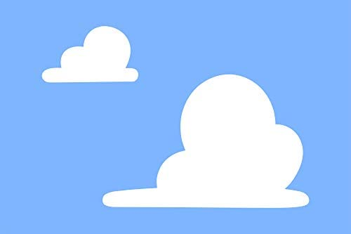 Toy Story Cloud Stencil Wall Art Stencil Cloud Pattern For