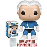 Funko Pop! Marvel: X-Men - Quicksilver Vinyl Figure (Bundled with Pop BOX PROTECTOR CASE)]()