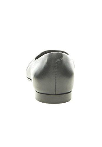 SHOEPASSION No. 10 WL Edler Sommerschuh für Damen. Handgefertigt Aus Feinstem Leder in Italien. Atmungsaktiv, Leicht & Bequem. Schwarz