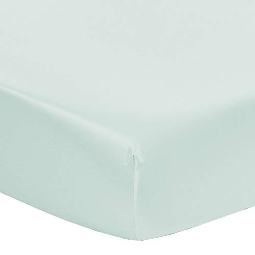 (Designthology ( U.S. ) Soft and Smooth Microsilk Breathable Fitted Crib Sheets (Lt Green, 28