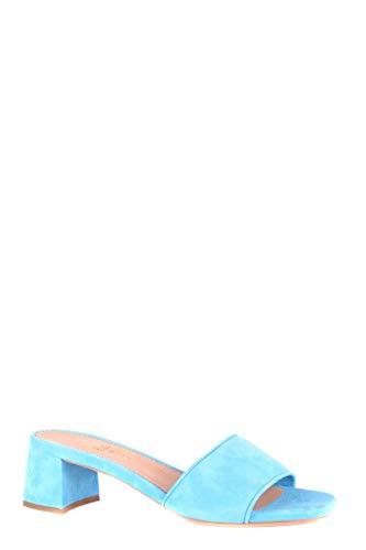 in chiaro Car Donna con Shoe Mcbi34834 blu camoscio tacco Scarpe ATwO1Aq