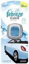 Febreze CAR Air Freshener Linen & Sky (0.06 oz)(pack of 8)