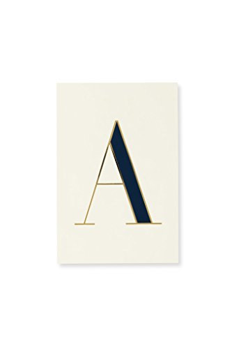 - Kate Spade New York Initial Notepad (A)
