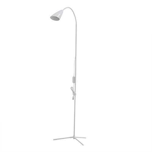 Floor Lamp, LED Floor Light, Dimmable LED Reading Lamp for Living Room, Torchiere Floor Lamp,Modern Tall Standing Pole Uplight Light for Living Room, Dorm, Bedroom, Office, Reading,Protect Eye (White)