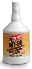 Red Line MT90 - Quart (Case 12 Bottles) by Red Line Oil