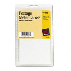 AVE05288 - Avery Permanent Adhesive Postage Meter Labels (Adhesive Postage)