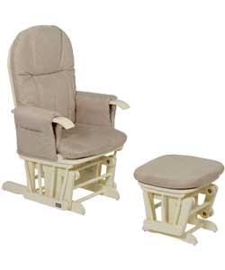 Excellent Amazon Com Tutti Bambini Gc35 Glider Chair Vanilla Baby Creativecarmelina Interior Chair Design Creativecarmelinacom