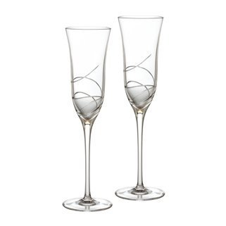 Waterford Ballet Ribbon Essence Champagne Flute, Pair ()