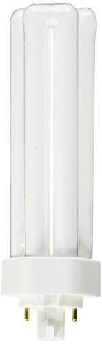 Sylvania FBA_S6755 10 Pack 20871 CF42DT/E/IN/835/ECO 42-Watt 3500K 4-Pin Triple Tube Compact Fluorescent Lamp, White
