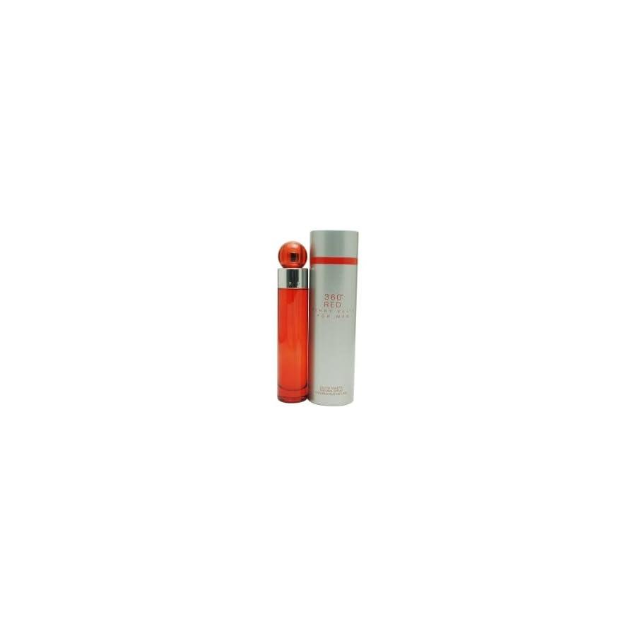 Perry Ellis 360 Red Men Eau De Toilette Spray, 1.7 Ounce