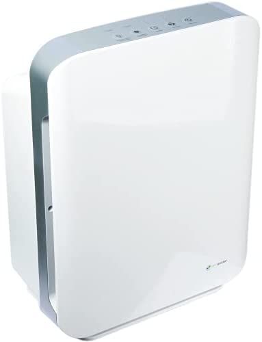 Germ Guardian Air Purifier 4 in 1 High CADR True HEPA Filter, Large Rooms to 365 sq ft, UV Light Sanitizer Eliminates Germs, Filters Allergies, Pollen, Smoke, Dust, Pets, Mold, Odors, Quiet, AC5900WCA