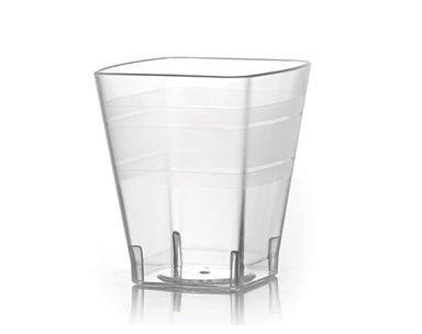 Fineline Settings 1102 Wavetrends 2 oz Clear Shot Glass