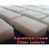 Zanyzap Replacement AquaClear 50 Foam Filter Insert Sponge - 6 Pack