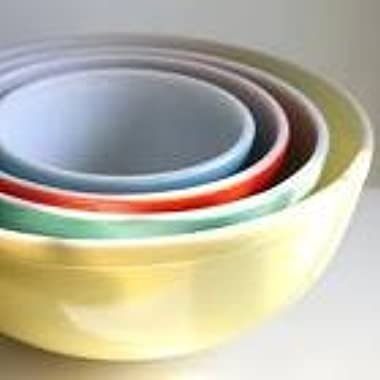 Pyrex 400 Series 4-Piece Mixing Bowls Set, Multi-color