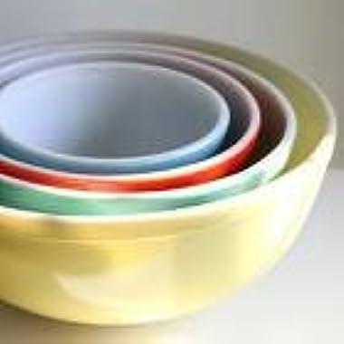 Pyrex 400 Series 4-Piece Mixing Bowls Set, Multi-color