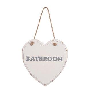 Shabby Chic Bathroom Sign. Shabby Chic Bathroom Sign  Amazon co uk  Kitchen   Home