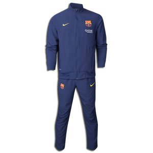 7ed12521dd1 Nike barcelona 2013-2014 woven sideline warm up player issue tracksuit  545002 411 training (