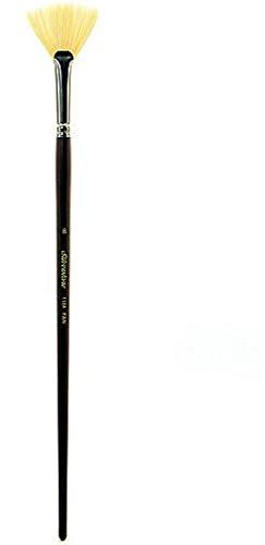 Silver Brush Silverstone Series Hog Bristle Brushes (Size: 8) - Fan (Series Number: 1104) 1 pcs sku# 1830703MA