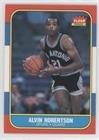 Alvin Robertson (Basketball Card) 1986-87 Fleer - [Base] #92