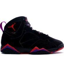 more photos 7db00 e45f3 Image Unavailable. Image not available for. Color  Jordan Air 7 VII Retro  Raptors Men s Basketball Shoes Black True ...