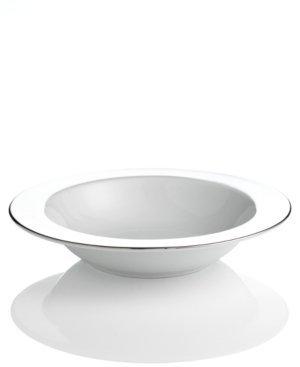 Charter Club Dinnerware, Grand Buffet Platinum Fine Line Pasta Serving Bowl by Charter Club Charter Club Platinum Bowls