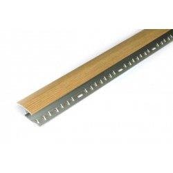 Stikatak Zigzag M34 Metal Oak Effect Door Bar - Laminate to cpt ...