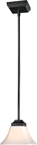 Minka Lavery 1811-66, Agilis, 1 Light Mini Pendant, Black