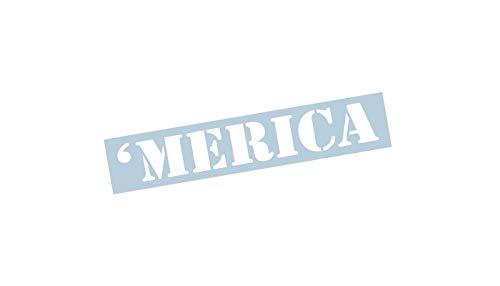 Xpin Graphics Merica Windshield Banner Decal/Sticker 4
