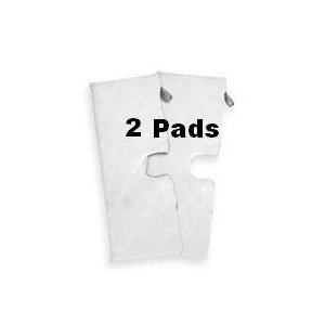 Euro-Pro Shark Compatible XLT3501 XL Microfiber Replacement Cleaning Pads for the Steam Pocket Mop, Set of 2