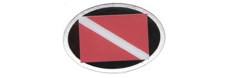Knockout 507H Dive Symbol Hitch Cover